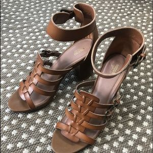 Mossimo brand heeled sandals NWOT size 10